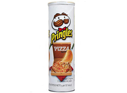 Pringles de pizza